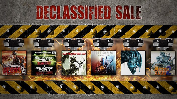 PlayStation Store 'Declassified' sale begins today