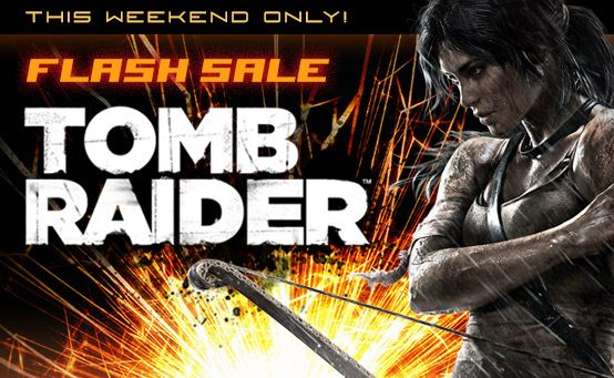 Tomb Raider PSN Flash Sale