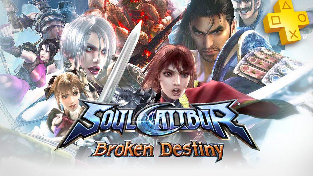 PlayStation Plus: Soul Calibur: Broken Destiny Free for Members