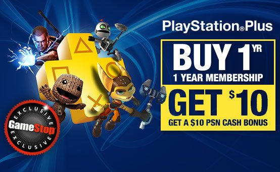 PlayStation Plus: Germinator & Pinball Arcade Free, Gamestop PS Plus Deal