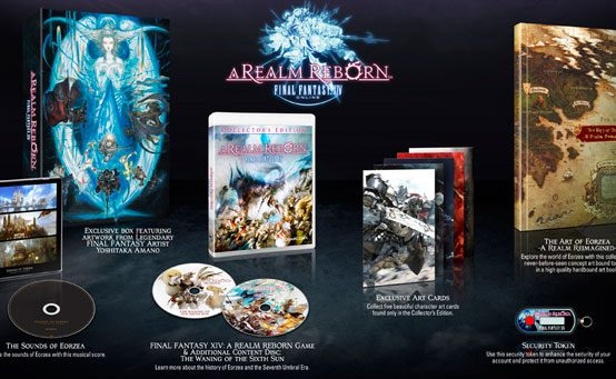 Final Fantasy XIV: A Realm Reborn on PS3 8/27, Collector's Edition Details