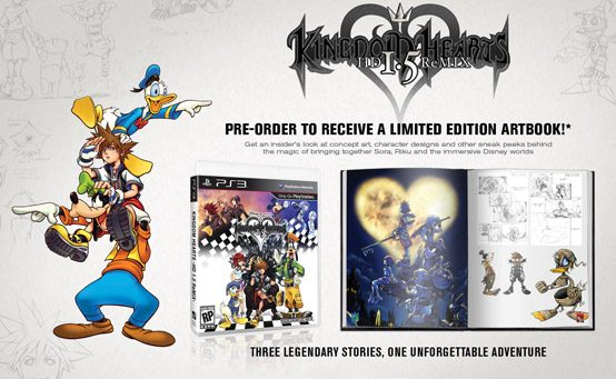 Kingdom Hearts HD 1.5 ReMIX: Pre-Order for Limited Edition Artbook