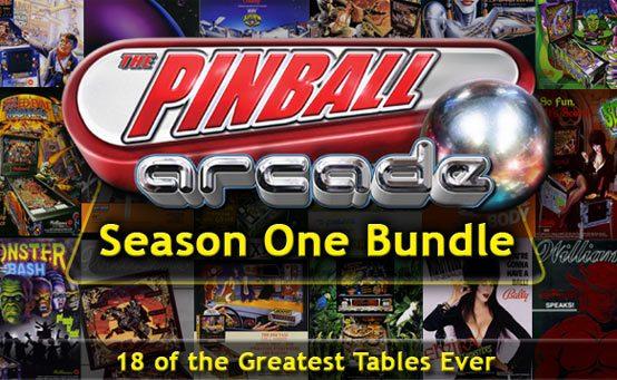The Pinball Arcade Season One Bundle: 18 Tables, $29.99