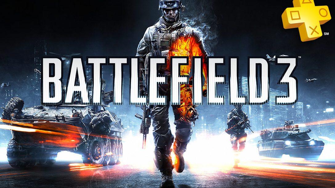 PlayStation Plus: Battlefield 3 Free for Members, Summer Blast Discounts
