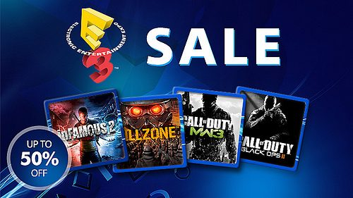 E3 sale starts today – save on inFAMOUS, Call of Duty, KillZone series