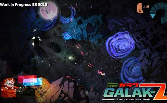 GALAK-Z: A 16-Bit Space Shooter for the Next Generation