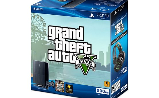 Grand Theft Auto V PS3 Bundle, Custom Pulse Elite Headset & Custom Audio Mode