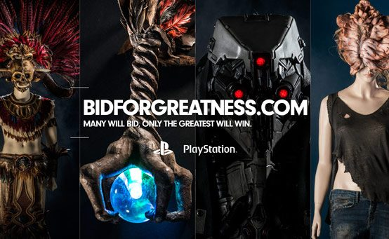 Bid for Greatness Opens, Own a Piece of PlayStation History