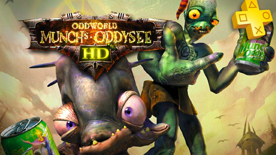 PlayStation Plus: Oddworld: Munch's Oddysee HD Free for PS Plus Members