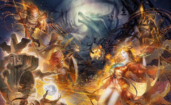 Destiny of Spirits on PS Vita: The World Unites in Battle