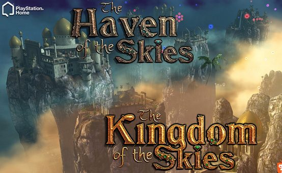 Kingdom and Haven of the Skies Comes to PlayStation Home