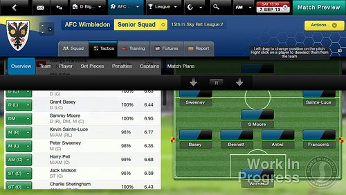 Football Manager lines up PS Vita debut