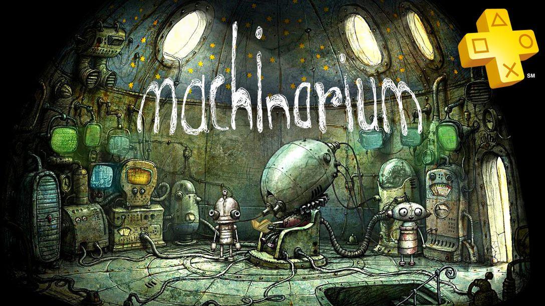 PlayStation Plus: Machinarium (PS Vita) Free for Members
