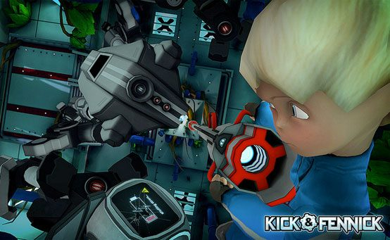 Kick & Fennick Launches on PS Vita in 2014