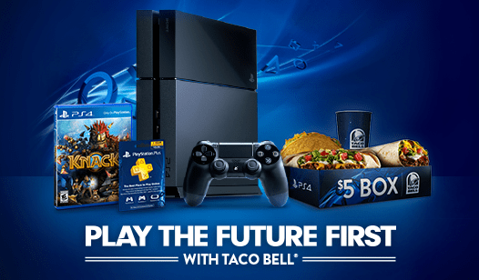 PlayStation and Taco Bell: A Chance to Win PS4 Before November 15th