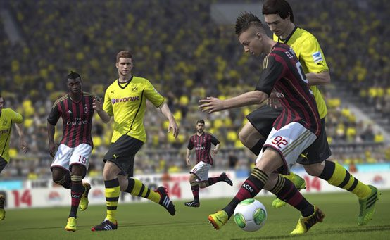 FIFA 14 on PS3 Today, Capturing the Emotion of Great Goals