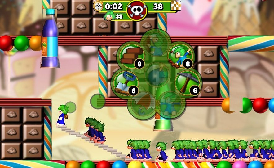 Lemmings Touch Announced for PS Vita