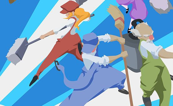 Cleaning Up with Dustforce on PS3