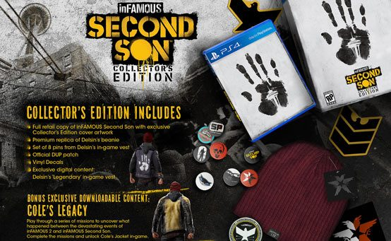 inFAMOUS Second Son Limited and Collector's Editions Revealed