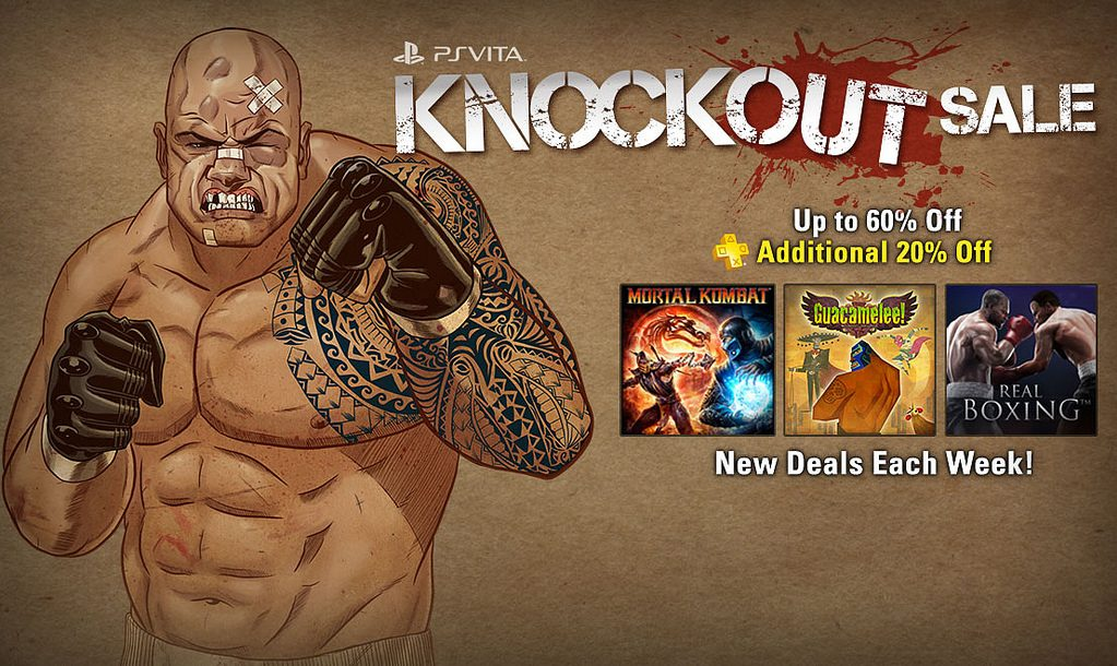 Knockout Sale Hits PS Vita This Week