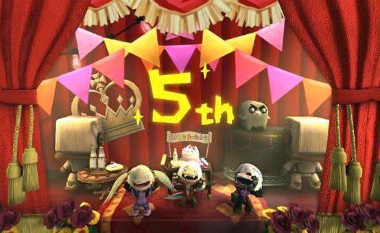 LittleBigPlanet Update:  Happy Birthday LittleBigPlanet!