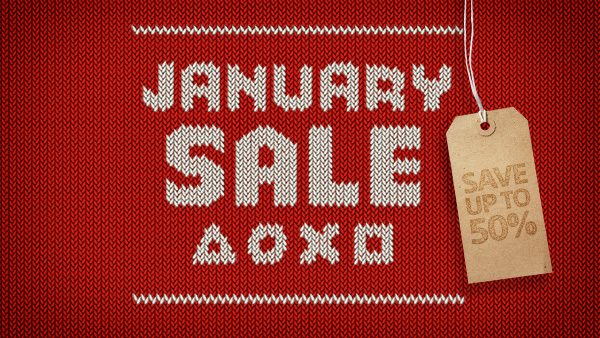 The PlayStation Store January sale starts today!