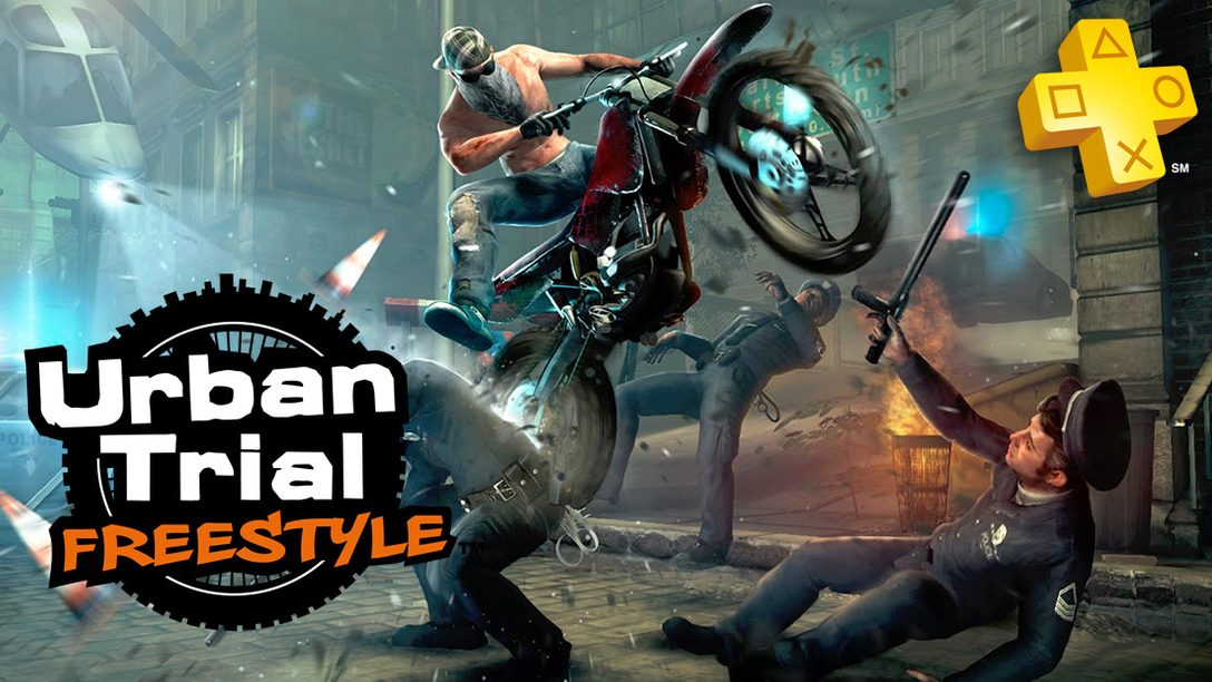 PlayStation Plus: Urban Trial Freestyle Free on Vita for Members