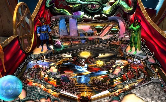 Zen Pinball 2 Hits North American PS4s on 12/24, Doctor Strange Out Today