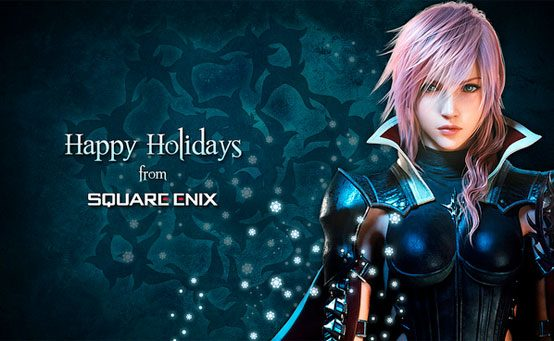 Happy Holidays from the Final Fantasy XIII Team