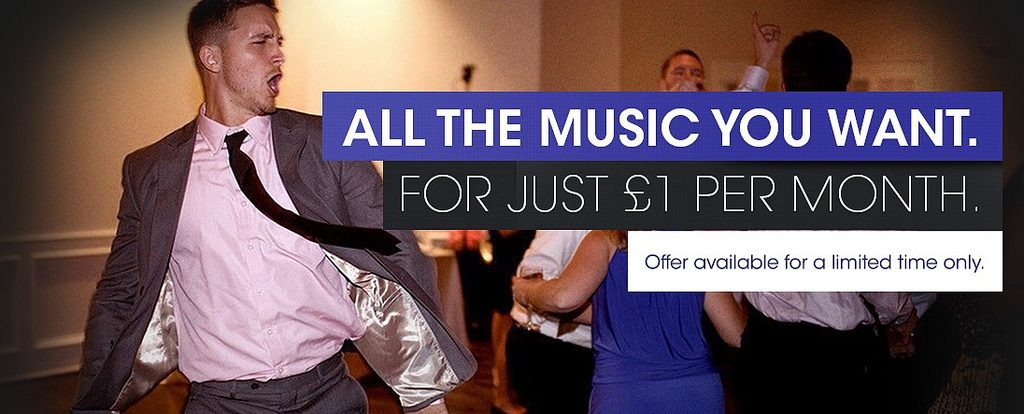 Music Unlimited update: 3 months of music for £3