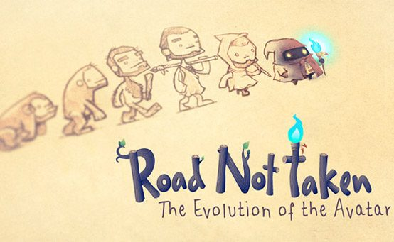 Artist's Perspective: The Main Character of Road Not Taken
