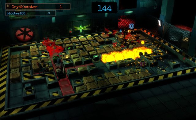Basement Crawl Out Today on PS4
