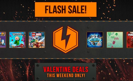 PlayStation Store Valentine's Day Flash Sale Starts Now
