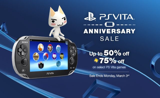 PS Vita Turns Two – Celebrate With Sales