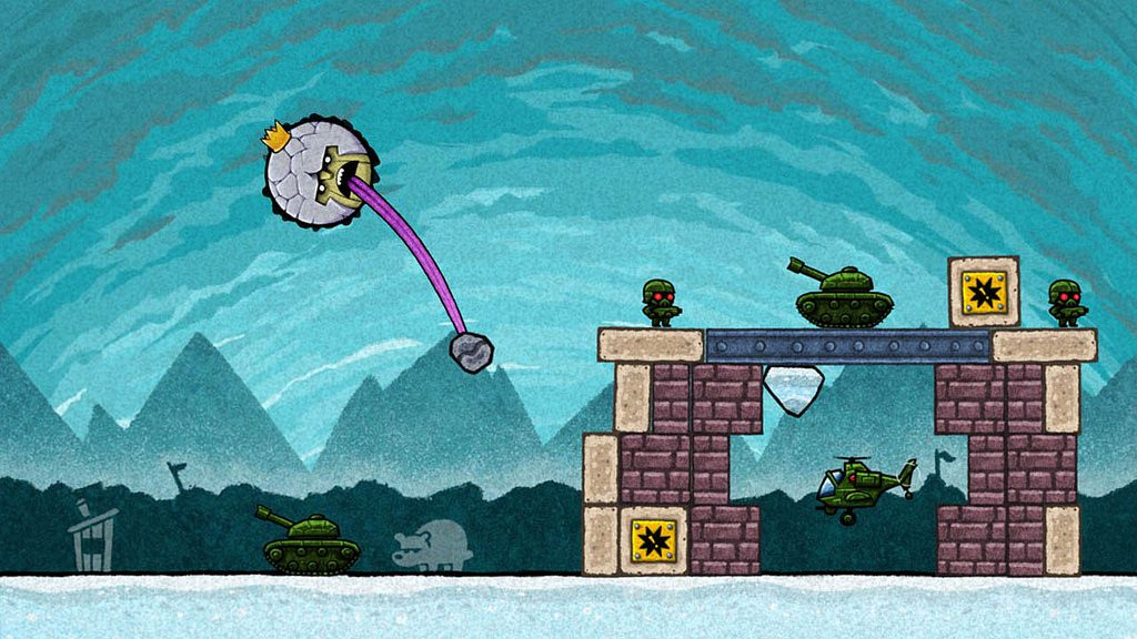 King Oddball Out Today on PS Vita