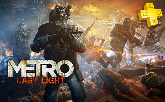 PlayStation Plus: Outlast and Metro: Last Light Free for Members