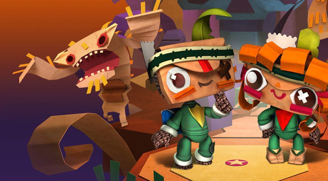 LittleBigPlanet update: New Tearaway DLC unfolds this week