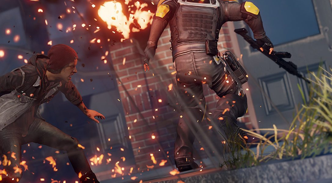 Hands-on with inFAMOUS Second Son on PS4