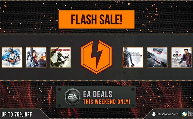 PlayStation Store EA Flash Sale Starts Now