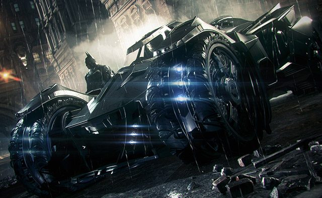 Arkham Knight: Building the Ultimate Batmobile on PS4