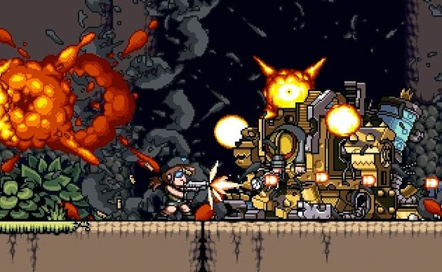 Mercenary Kings Coming to PS4 on April 1st