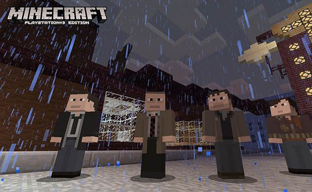 Latest Minecraft PS3 Update Adds Uncharted, Killzone, Heavy Rain Skins