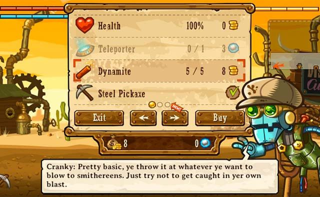 SteamWorld Dig on PS4, PS Vita: Tips and Tricks