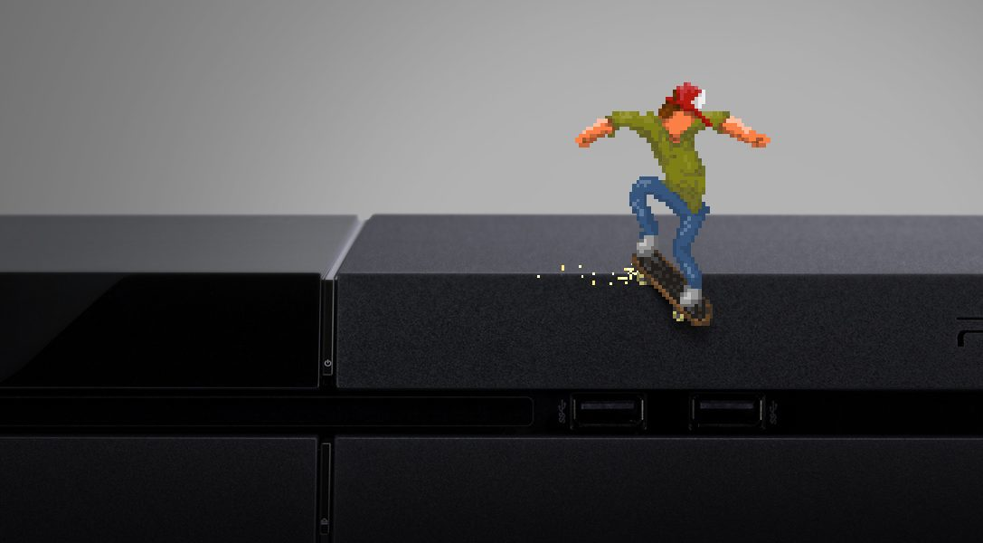 Acclaimed skate 'em up OlliOlli is coming to PS4 and PS3