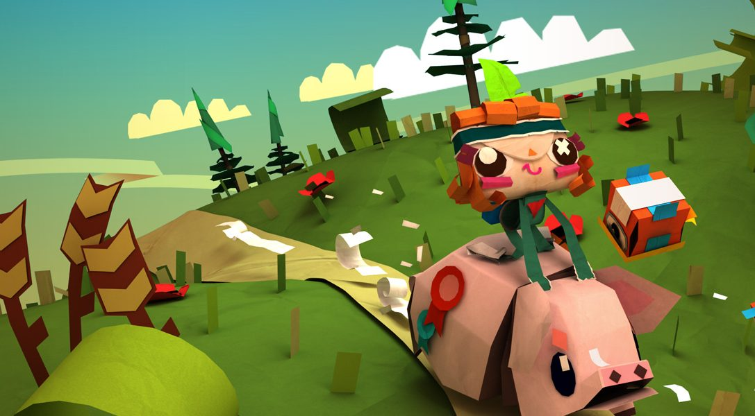 Tearaway gets its very first papery DLC Pack!