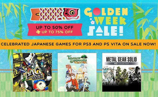 Golden Week Sale Celebrates Japanese Games