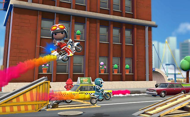 Joe Danger on PS Vita: 2 Full Games, 3 New Characters