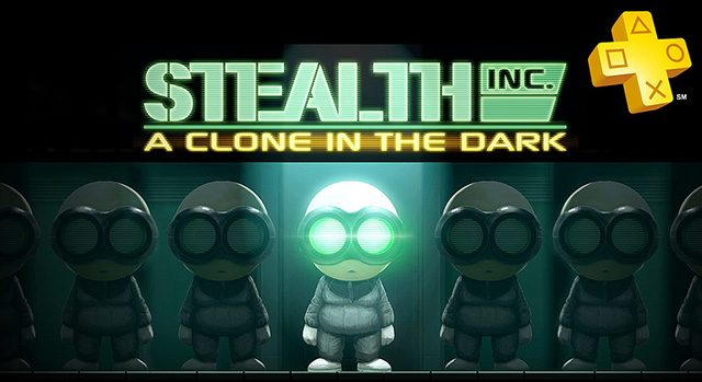 PlayStation Plus: Stealth Inc. A Clone in the Dark Free for Members
