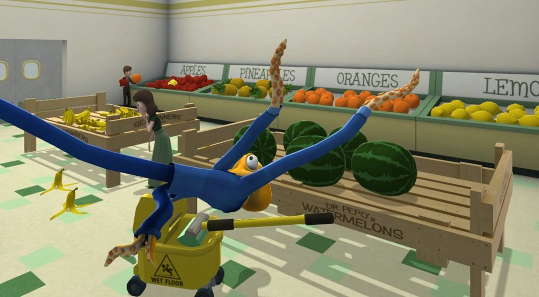 Octodad: Dadliest Catch launching on PS4 next week