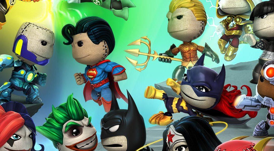 LittleBigPlanet PS Vita: DC Comics Premium Level Pack coming this week!